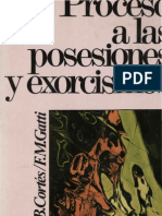 Cortes, Juan b - Procesos a Las Posesiones y Exorcismos