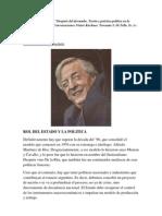 Pensamiento Politico de Nestor Kirchner