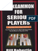 Robertie Bill Backgammon for Serious Players