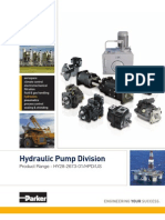 Parker HPD Product Bulletin (HY28-2673-01)
