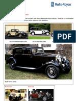 Cars by RR (Rolls Royce 20/25)