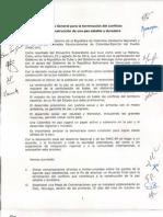 Acuerdo Gobierno- Farc