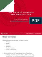 Excel Stats