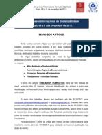 Normas Para o Congresso Internacional Ambiental Turismo Agronomia 2011