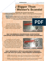 Obama Document Fraud Way Bigger Than Anthony Weiner's Scandal - Article II Super PAC Wash Times Ad - 04Sep2012