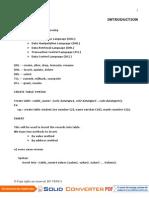 SQL Plsql Doc