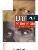 Año 1000 Año 2000 GEORGES DUBY