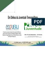Convite Ato Pacto Teresópolis