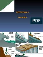 Taludes y Causas de Inestabilidad Geotecnia i