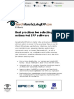 Best Practices for Selecting ERP eBook