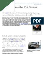 Sao Joao Maria Vianney Cura dArs Patrono Dos Procos
