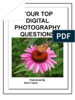 Top Digital Photography Questions Answered