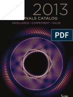 2013 APS Journals Catalog
