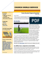 2012-09 Rocky Mountain Newsletter