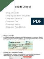 TIPOS DE CHEQUE, RIESGO PAIS