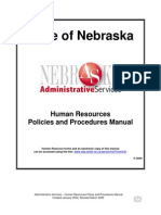 As Hr Policy and Procedure Manual