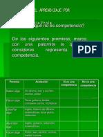 Evaluacion Del Aprendizaje Por Competencias