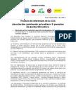 Comunicado y Manifiesto - Referendum CCSS (4-9-2012) Comisión Especial