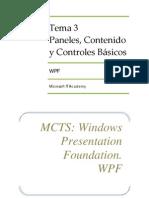 Tema 3 - Controles en Formularios