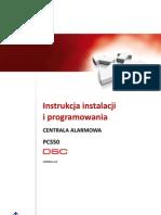 DSC PC550 v1 0 Inst