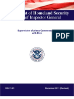 DHS/ICE- Risk Assessment