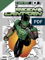 Green Lantern issue zero preview