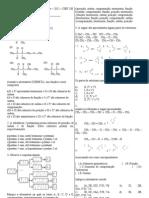 Recuperação de quimica-3 ano-3bi-2011