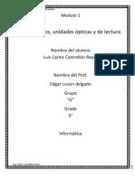 3.-Discos Duro, Unidades Opticas y de Lectura