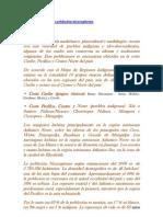 Características de la población nicaragüense