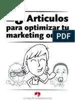 28 artículos para optimizar el marketing online