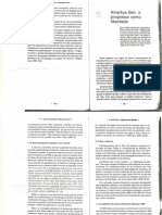 Filosofia Amartya Sen - O Progresso Como Liberdade