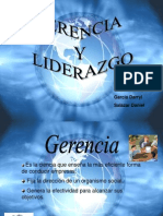 Gerencia y Liderazgo