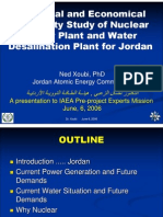 Feasibility of Nuclear Power Plant for Jordan
