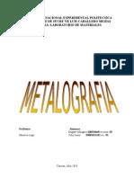 Practica de Metalografia