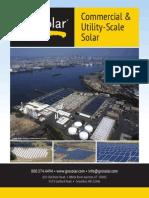 groSolar Company Brochure 2012