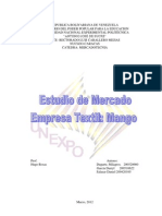 ESTUDIO DE  Mercado EMPRESA MANGO