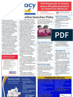 Pharmacy Daily for Wed 05 Sep 2012 - Priceline\'s Pinky, CPD survey, NT pharmacies, Health and Beauty and much more...