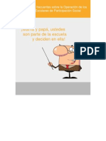 Consejo Escolar de Partisipacion Social_preguntas