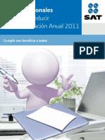 gastos deducibles en declaracion anual PF