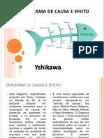 Slides Diagrama de Causa e Efeito
