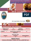 ARTE CULINARIO PRESENTACIÓN