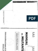 Manual del Militante CNT- FAI 1937