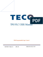 WEG - CLP TPW-03 - manual original - inglês
