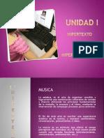 Unidad I. Hipertexto e Hiperliteratura