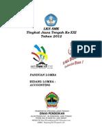 Sampul Panduan Lks Xxi Jateng 2012 - Accounting