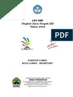 Sampul Panduan - Secretary