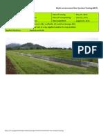 2012WS MET 1-Irrigated - Week 11 (August) IRRI