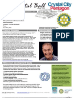 September 5, 2012 Weekly Bulletin - Crystal City-Pentagon Rotary Club