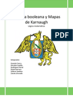 Algebra Booleana y Mapas de Karnaugh