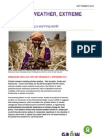 Oxfam Extreme Weather Extreme Prices Report